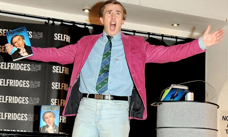 "Steve Coogan, ""harbinger of doom"" to the celebrity memoir"