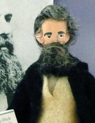 Totally creepy or kind of adorable? The Herman Melville Etsy doll