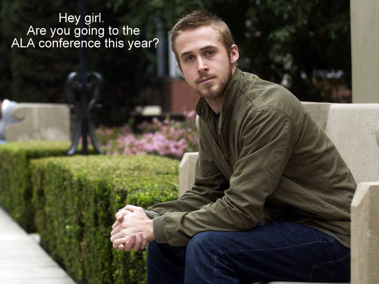 Ryan Gosling sure loves librarians
