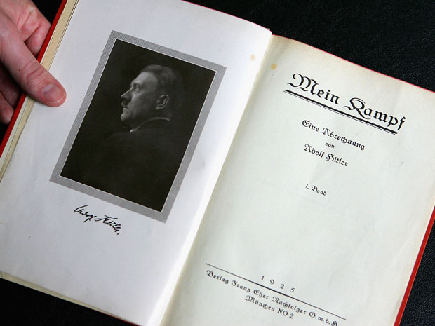 German publisher reprints Mein Kampf, which may be illegal