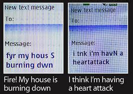 How worried should we be about text speak?