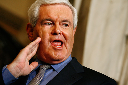 The speculative world of Newt Gingrich, author
