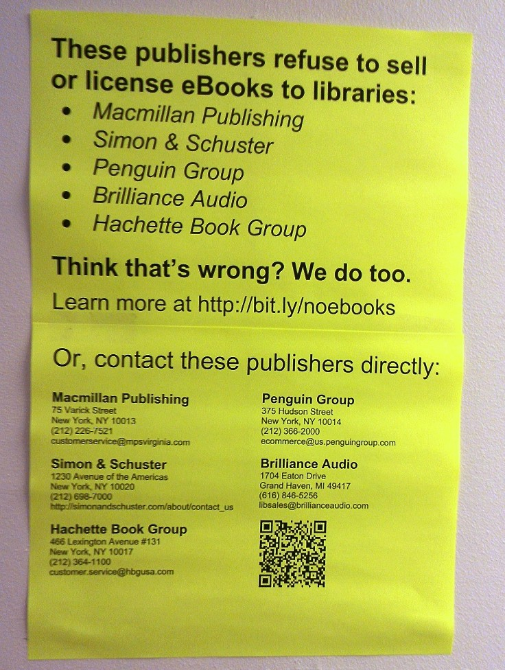 Libraries respond to Penguin, and it's not pretty
