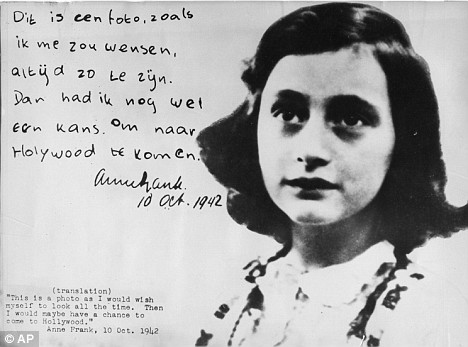 """Leigh Stein: """"My greatest ambition was to 'Be Anne Frank.'"""""""