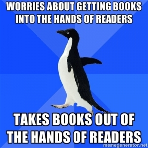 Penguin U.S. abruptly stops selling ebooks to libraries