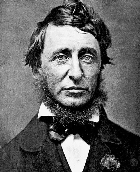 Henry David Thoreau, global warming activist
