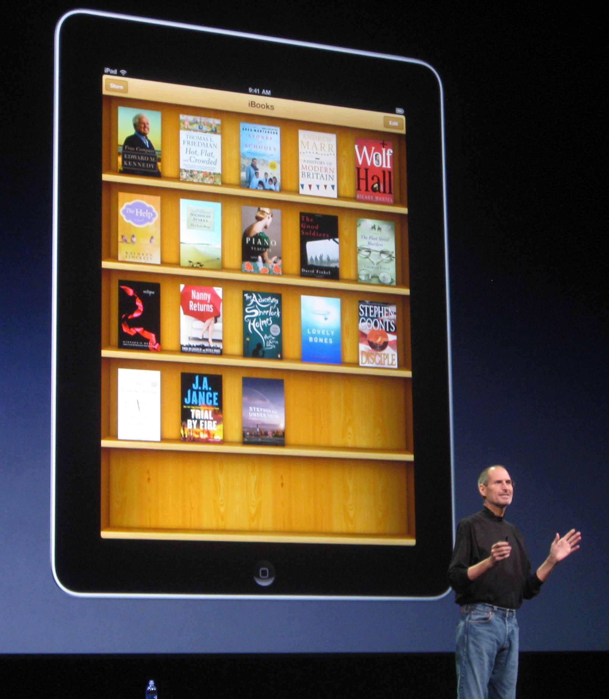 Justice Dept. finally does something about predatory pricing in the book biz by announcing it's suing ... Apple and the publishers?