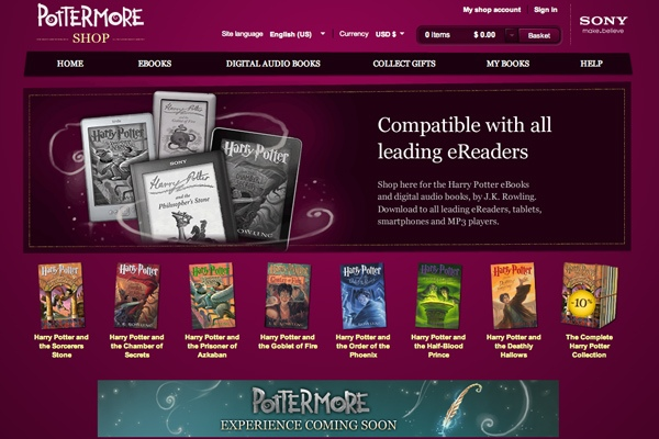 Harry Potter and the really powerful ebooks
