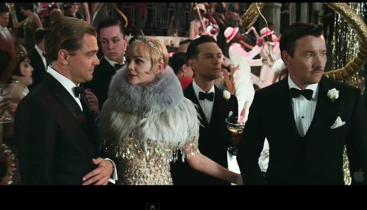 Baz Luhrmann releases decadent new trailer for upcoming Gatsby film