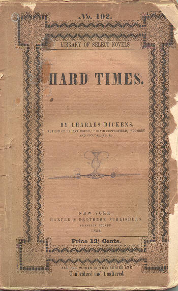 hard times 2 essay Charles dickens' hard times student's name institutional affiliation course date 1- dickens was a strong champion for children's rights in a time when children were treated as property.