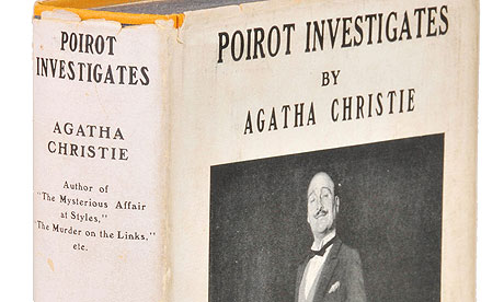 Rare Agatha Christie <em>Poirot</em> book breaks auction house record