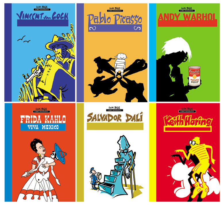 Bluewater announces graphic novel artist bios
