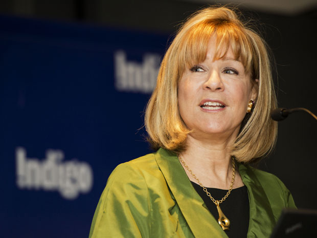 Heather Reisman is bullish on the books still remaining in her stores