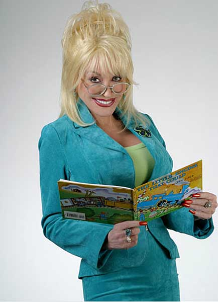 UK town adopts Dolly Parton model for child literacy