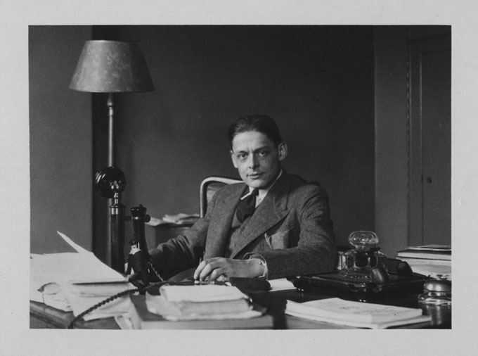 T.S. Eliot's <em>The Waste Land</em>, with inscription to the author's therapist, goes on sale