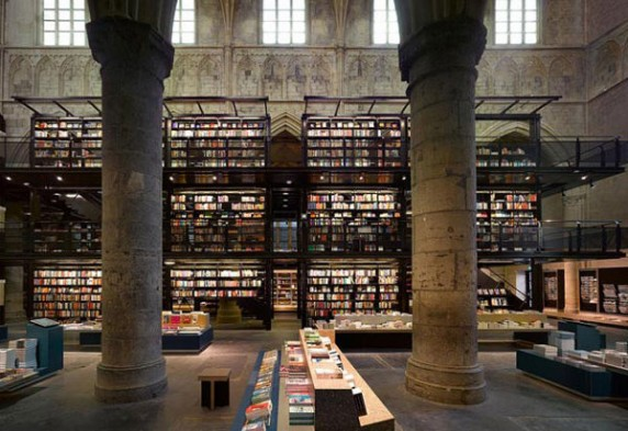 Cathedral Bookstore in Maastricht, the Netherlands