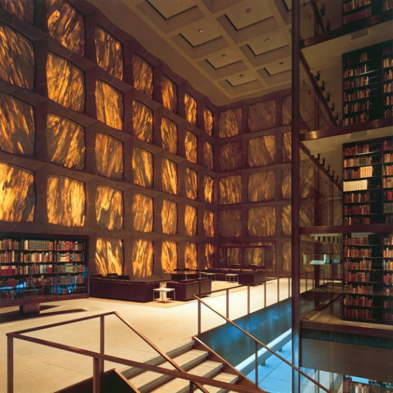 Beinecke Rare Book and Manuscript Library in New Haven, CT