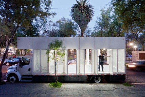A47 Mobile Library in Mexico City, Mexico