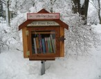 Little Free Libraries banned -- or at least, put in the back yard