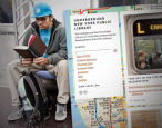 Libraries in the subway