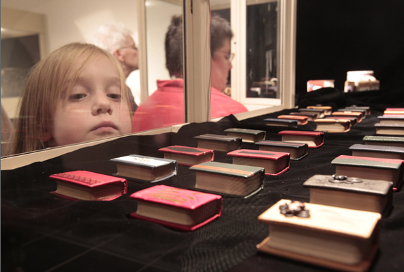 A miniature book collector and his little library » MobyLives