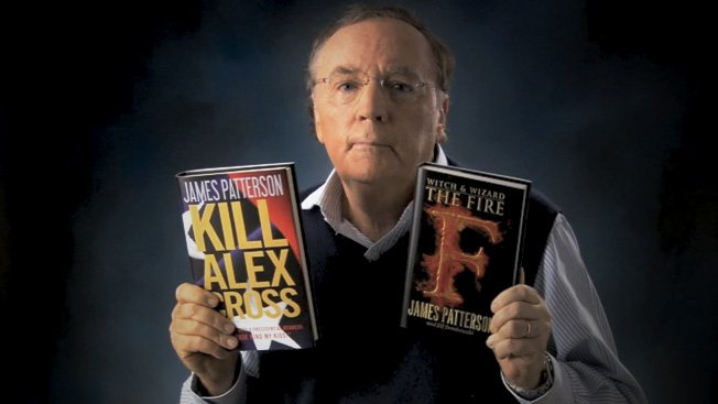 Image result for PHOTOS OF JAMES PATTERSON