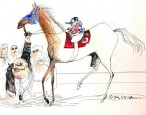 Bourbon and beasts: Hunter S. Thompson & Ralph Steadman at The Kentucky Derby