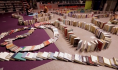 Seattle Public Library sets record for longest book domino chain