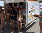 Tel Aviv opens a new beach library, or why we're never coming home