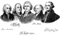 Penmanship and the Founding Fathers' names
