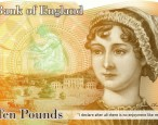Jane Austen's face to appear on £10 note