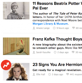 Buzzfeed ruins the written word for everyone forever » MobyLives
