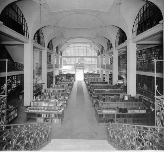 SLIDESHOW: Turn-of-the-century Bookstores » MobyLives