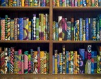 Yinka Shonibare's beautiful batik library