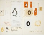 The logos behind the Penguin Random House logo