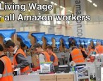 Amazon Anonymous campaigners take to Amazon to demand the Living Wage