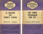 Woolf's A Room of One's Own rewritten as Of One Woman or So