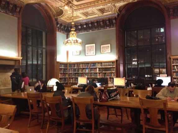 Inside The Periodical Room And Map Division At The New