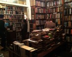 An evening at Brazenhead Books