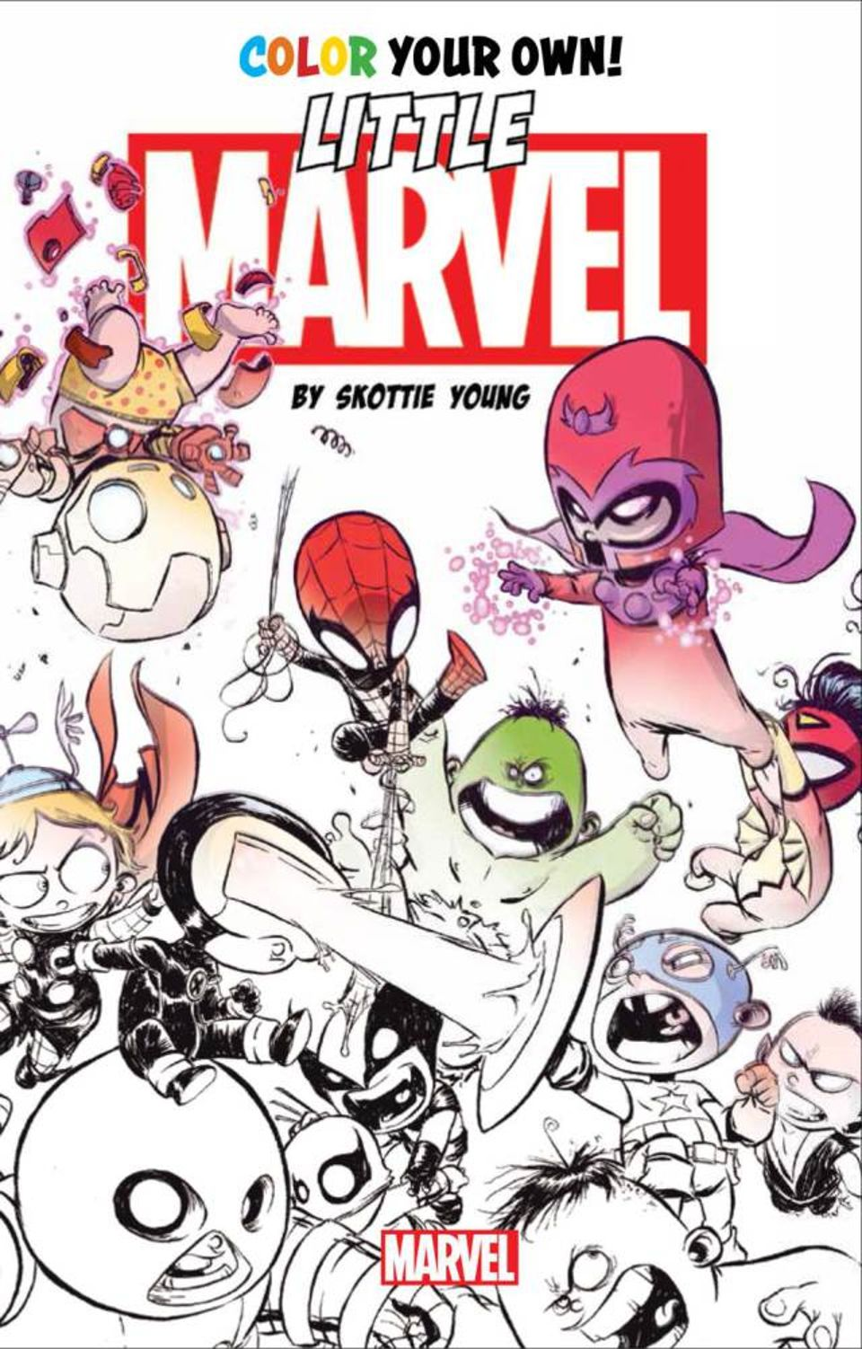 Marvel enters the race for the next Great American Coloring Book For ...