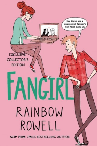 Fangirl by Rainbow Rowell was written as part of National Novel Writing Month. Image via Macmillan.
