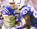 Andrew Luck: Colts quarterback, weird congratulator, team librarian