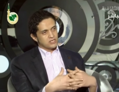 Ashraf Fayadh, pictured in a 2013 interview.