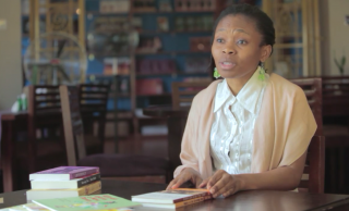 Cassava Republic Press publisher Bibi Bakare-Yusuf. Image via Vimeo