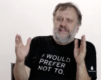 "Snappy dresser Slavoj Žižek: ""Something is going on with Trump"""