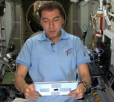 Yesterday, Cosmonaut Sergei Volkov read part of the novel from the International Space Station. (via BBC)