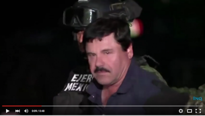 For El Chapo's return to prison, fewer conjugal visits means more time for reading. Image via YouTube