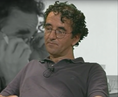 Roberto Bolaño (image via YouTube)