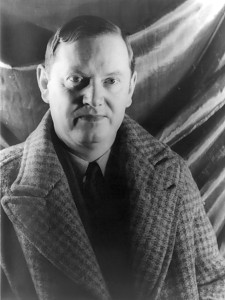 The man Evelyn Waugh