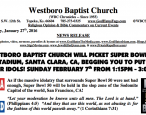 Westboro Baptist Church announces plans to picket Books Inc.